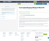 Corte Inglés Shopping Webquest (Spanish)