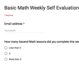 Using Self Assessments to Increase Student Accountability