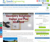 Geometry Solutions: Design and Play Mini-Golf