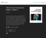 Adult Literacy Fundamental English - Reader 5