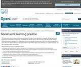 Social Work Learning Practice