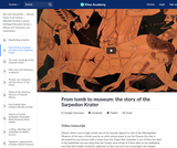 From tomb to museum: the story of the Sarpedon Krater