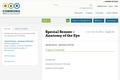 Special Senses – Anatomy of the Eye