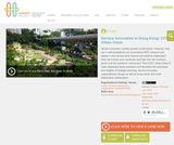 Service Innovation in Hong Kong: CFSC Urban Oasis