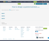 How to design a questionnairetest