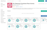 The (Awesome) Coordinate Plane Activity - Activity Builder by Desmos