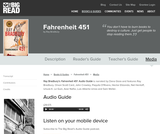 Fahrenheit 451 by Ray Bradbury - Audio Guide