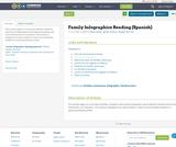 Family Infographics Reading (Spanish)