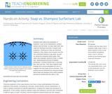 Soap vs. Shampoo Surfactant Lab