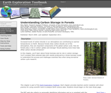 Earth Exploration Toolbook Chapter: Understanding Carbon Storage in Forests