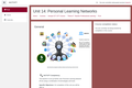 Kenya ICT CFT Course: Personal Learning Networks