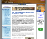 20f. Gabriel's Rebellion: Another View of Virginia in 1800