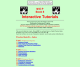 Centre for Innovation in Mathematics Teaching: Interactive Tutorials (Book 8)
