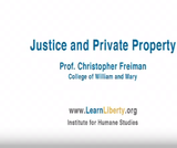 Justice and Private Property