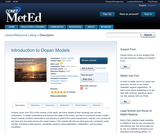 Introduction to Ocean Models