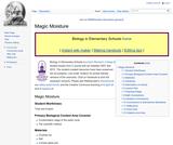 Magic Moisture