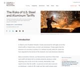 The Risks of U.S. Steel and Aluminum Tariffs