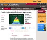 Practical Information Technology Management, Spring 2005