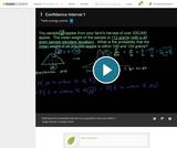 Statistics: Confidence Interval 1