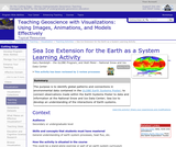 Sea Ice Extension for the Earth as a System Learning Activity