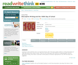 Descriptive Writing and the 100th Day of School
