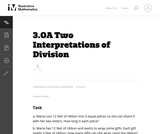 Two Interpretations of Division