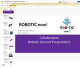 ROBOTIC now!- Sensors Presentation