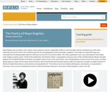 The Poetry of Maya Angelou