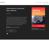 Airbnb Before, During and After COVID-19