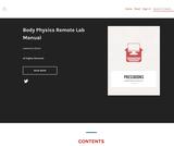 Body Physics Remote Lab Manual