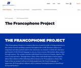 The Francophone Project