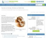Slinkies as Solenoids