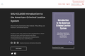Introduction to the American Criminal Justice System
