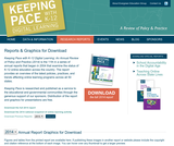 Keeping Pace With K-12 Blended and Online Learning:  2012 Annual Review