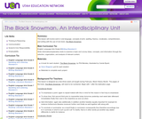 The Black Snowman, An Interdisciplinary Unit