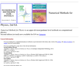 Numerical Methods for Physics, 2nd Ed.