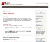 Ruby in 20 Minuten