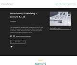 Introductory Chemistry - Lecture and Lab