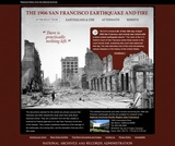 1906 San Francisco Earthquake and Fire