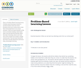 Problem-Based Learning Lesson
