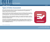 Types of Online Assessment