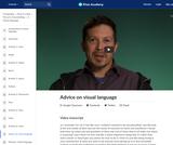 Advice on visual language