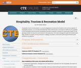Hospitality, Tourism & Recreation Model
