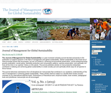 Journal of management for global sustainability