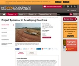 Project Appraisal in Developing Countries, Spring 2005