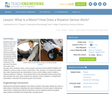 What Is a Motor? How Does a Rotation Sensor Work?