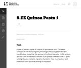 Quinoa Pasta 1