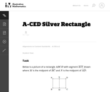 A-CED Silver Rectangle