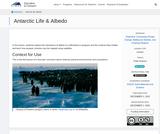 Antarctic Life & Albedo