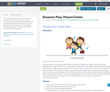 Dramatic Play- Fitness Center